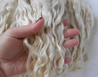 Mohair Doll Hair,Blythe Hair Mohair,Reborn Hair,BJD,doll hair,Mohair locks, Doll hair,BJD head Mohair
