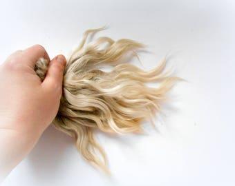 Mohair for doll hair,Blythe Hair Mohair,Reborn Hair,BJD,doll hair,Mohair locks, Doll hair,BJD head Mohair