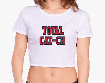 Total Cat-ch Cropped Tee