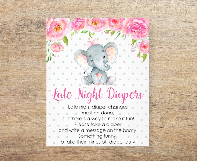 photograph regarding Late Night Diapers Printable titled Late Night time Diapers Printable Signal, Diaper Head Indication
