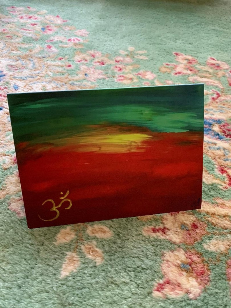 OM Notecards with envelopes