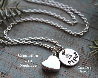 Cremation Urn Jewelry, Pet Ashes Necklace, Pet Memorial Jewelry, Pet Sympathy Jewelry, Dog Ashes, Cat Ashes, Rainbow Bridge