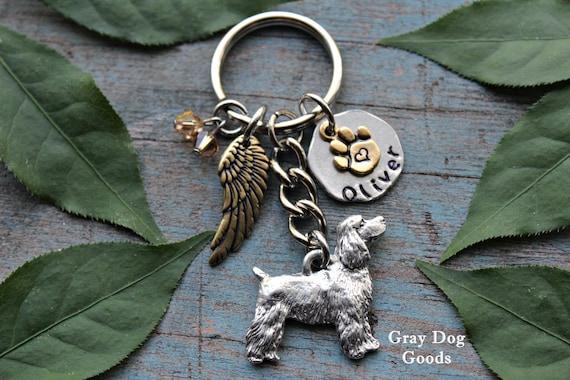 COCKER SPANIEL Dog 6 Charm Best In Show Keychain New