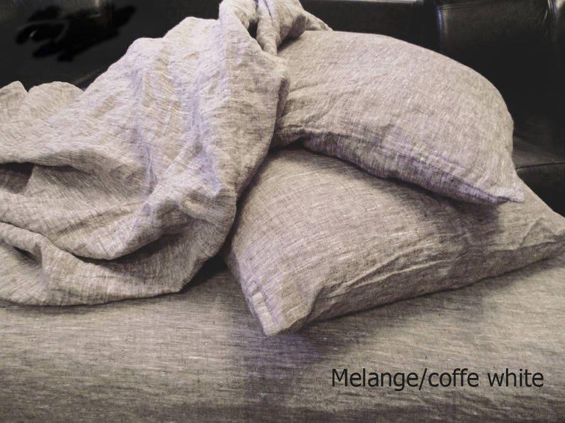 100/% LINEN FLAT SHEET Queen King Twin Single Double Natural Organic 100/% Flax