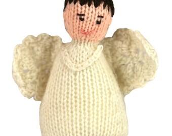 055e115b4646d Angel Boy Brown Hair Ornament