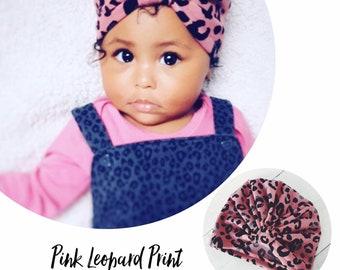 Leopard Print Turbans