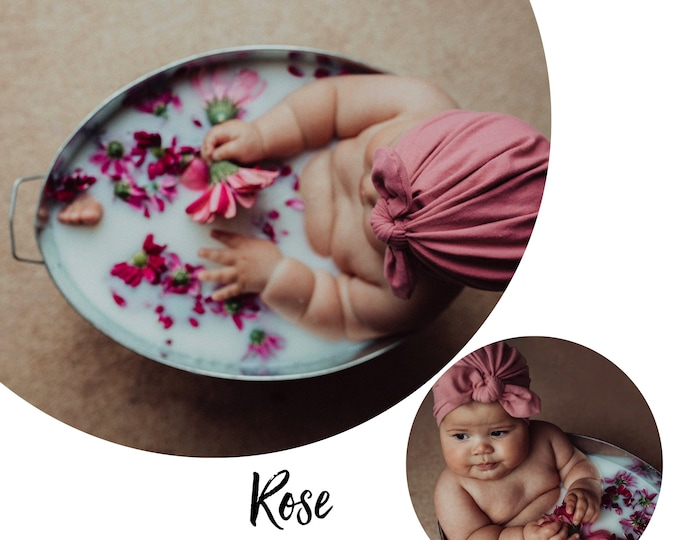 Featured listing image: Rose Baby / Children's Turban - choose your style