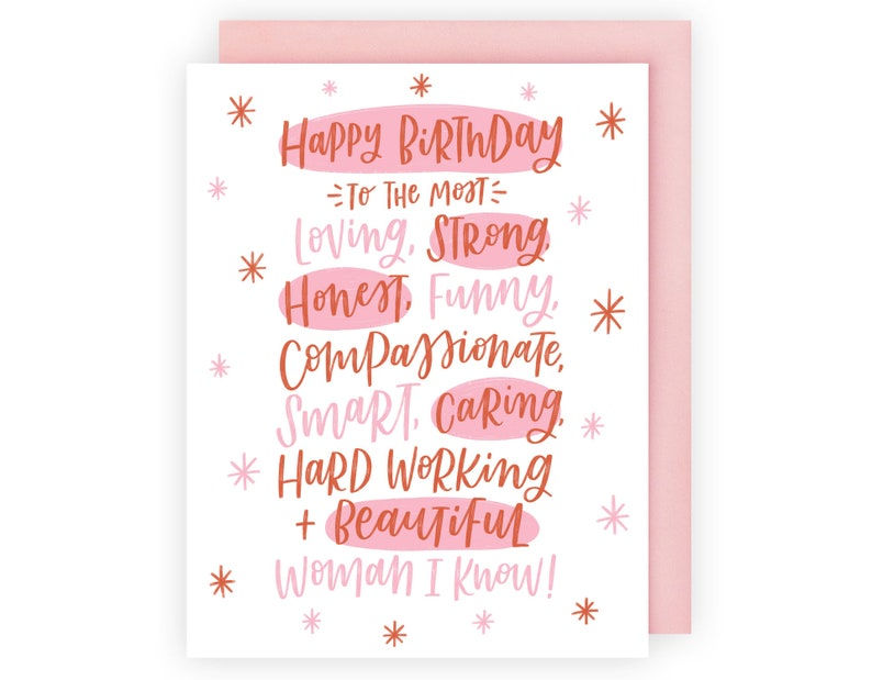 Birthday Greeting Card For Her Girlfriend