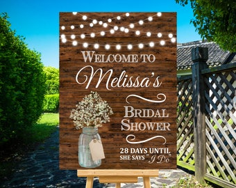 955f745a620 Bridal Shower Welcome Sign Printable
