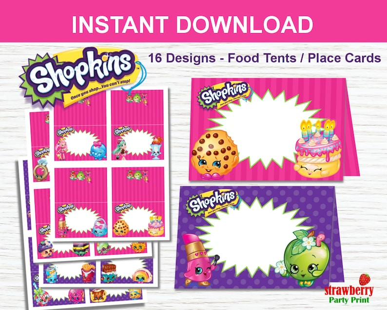 photo about Printable Shopkins List referred to as Shopkins Foods Labels, Editable Tent Playing cards, Destination Playing cards, Shopkins Get together Printable, Shopkins Birthday Bash Decorations
