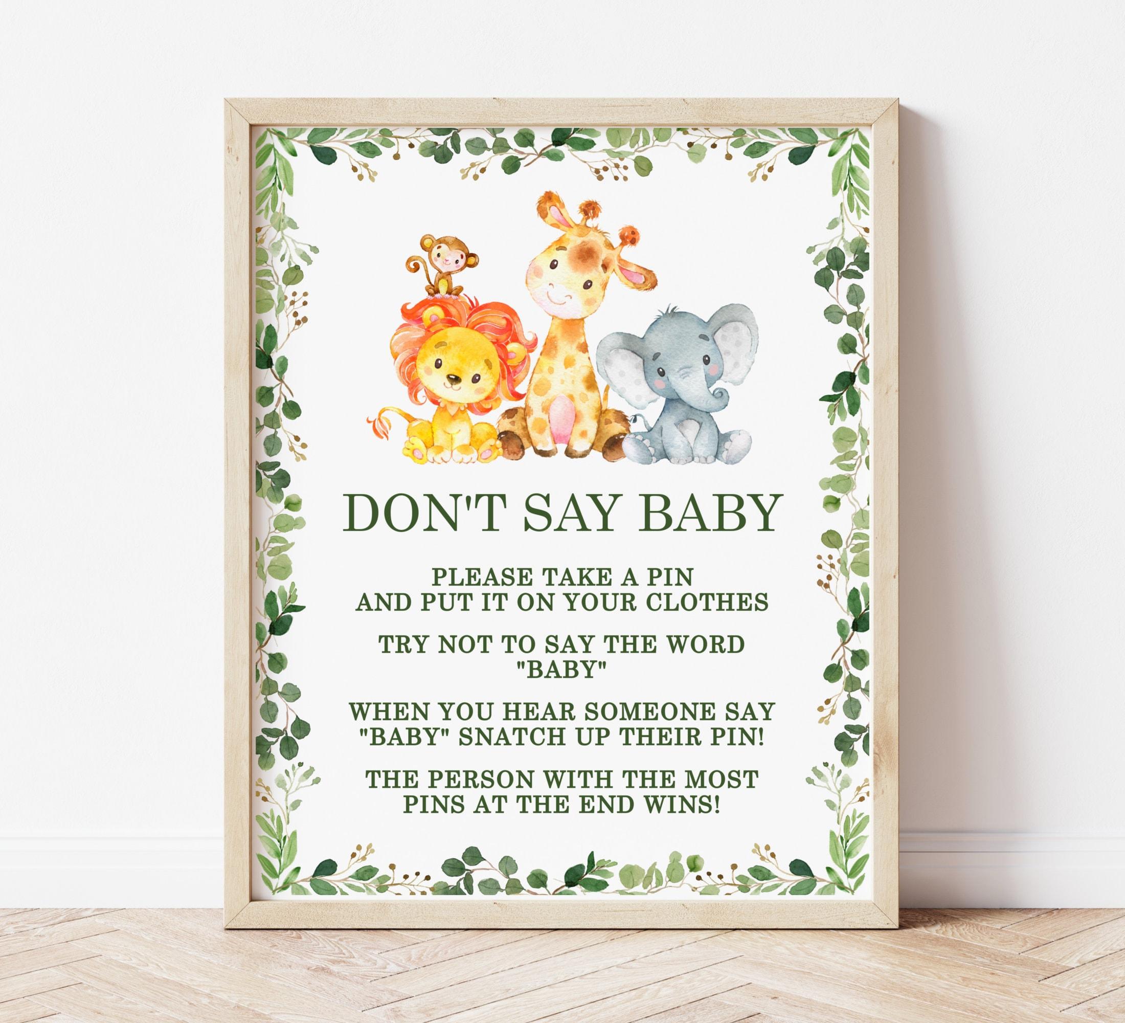 baby around the world game  jungle baby shower jungle animals gender neutral printable baby shower game greenery safari