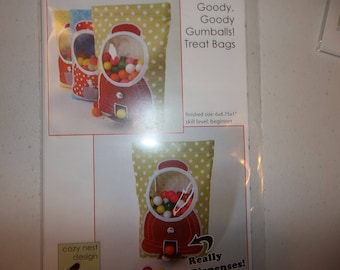 Goody goody Gumball Treat Bags Pattern