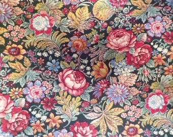 Cottage Garden Joan Kessler 100% Cotton Fabric #378