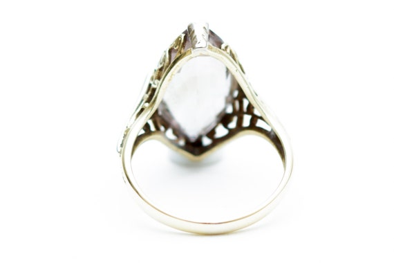 Amethyst Ring, Light Amethyst Ring, Yellow Gold A… - image 3