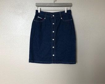cb75d1c49 Vintage Tommy Hilfiger Skirt