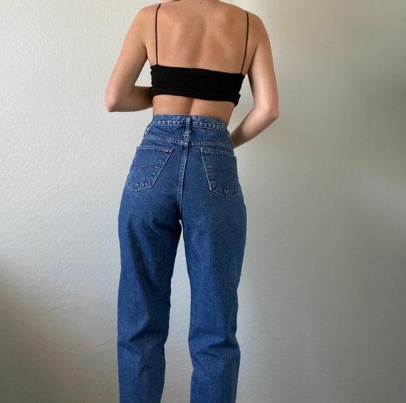 Waist 28 Vintage High Waisted Jeans - image 5