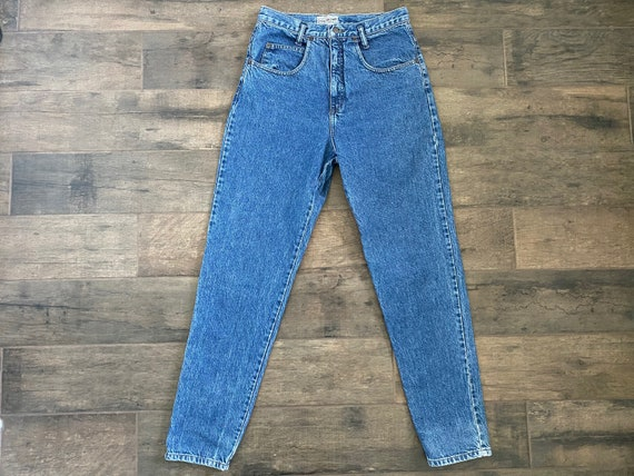 Waist 28 Vintage High Waisted Jeans - image 6