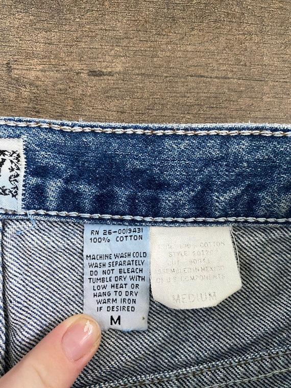 Waist 28 Vintage High Waisted Jeans - image 9