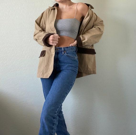 Vintage Tan Chore Coat