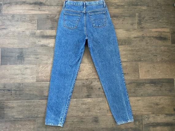 Waist 28 Vintage High Waisted Jeans - image 7
