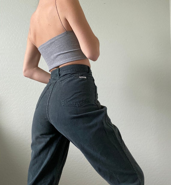 Waist 29 Vintage High Waisted Jeans