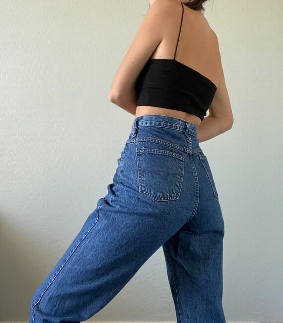 Waist 28 Vintage High Waisted Jeans - image 1