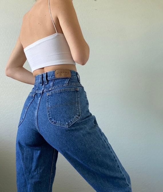 Waist 28 Vintage High Waisted Jeans