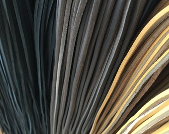 Leather Laces, Leather Boot Laces, Various Colours of Leather Laces/Sold Per Leather Lace