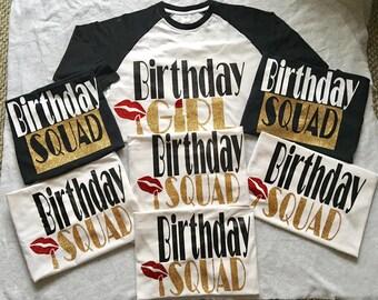 ADULT Birthday Shirts WOMEN
