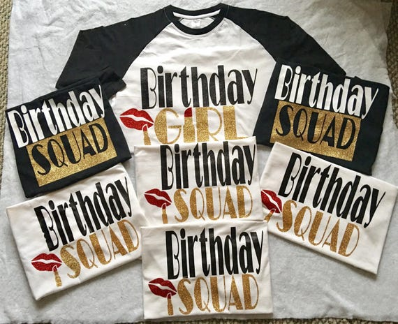 ADULT Birthday Shirts WOMEN