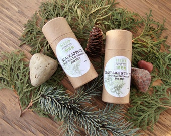 Natural deodorant for men: Aluminum free, Natural body odor control, Nontoxic Organic armpit care, organic deodorant, nontoxic deodorant