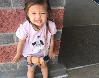 "Mini ""Travelers"" Toddler Messenger Bag"