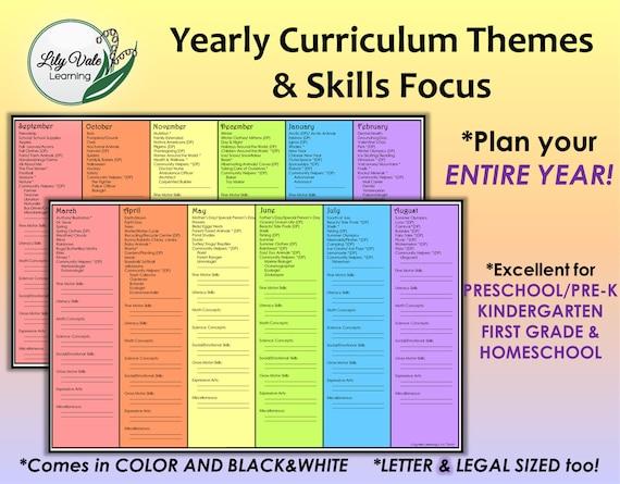 homeschool printable homeschool curriculum homeschool etsy rh etsy com  etsy homeschool planners