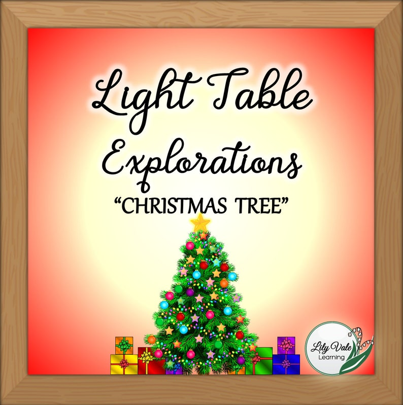 Light Table Light Table Toys Instant Download Christmas Etsy