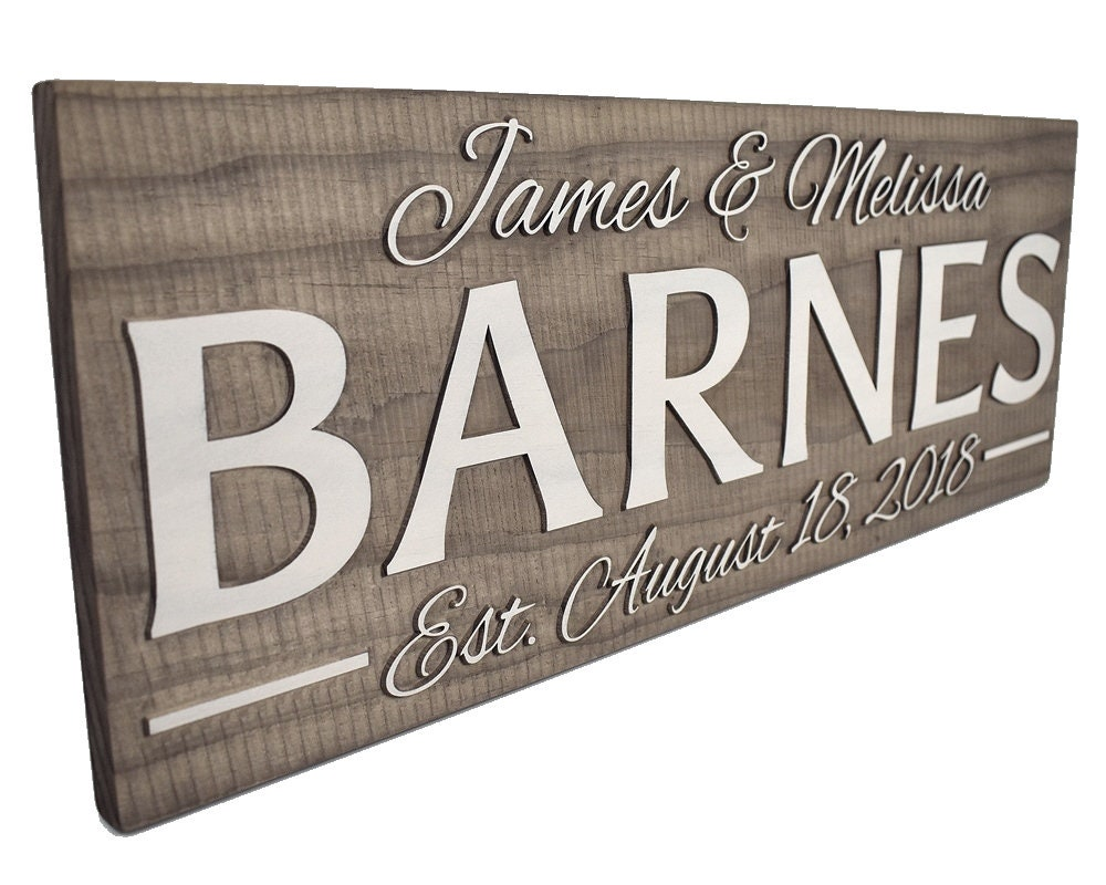 13 Wedding Anniversary Gifts For Him: Personalized Wedding Gift For Couple. Anniversary Gift For