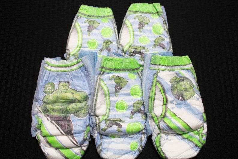 Goodnights Hero Diapers size L-XL fits 100-200 lbs. Custom ...