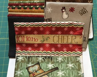 QUILT KIT - RARE Christmas Whimsy Quilt Kit by Gyleen X. Fitzgerald using The Christmas Whimsy Collection by Terri Degenkolb of Whimisicals