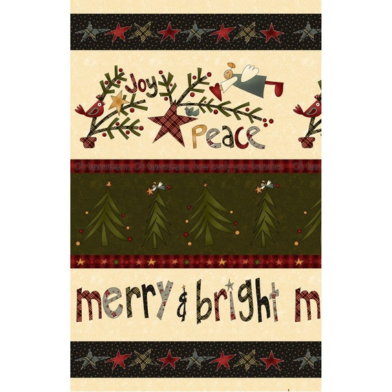 Henry Glass /'Believe/' By Shelly Comiskey 100/% Cotton Christmas Panel