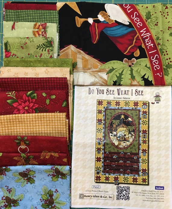 Kit Do You See What I See Advent Calendar Kit By Leanne Etsy