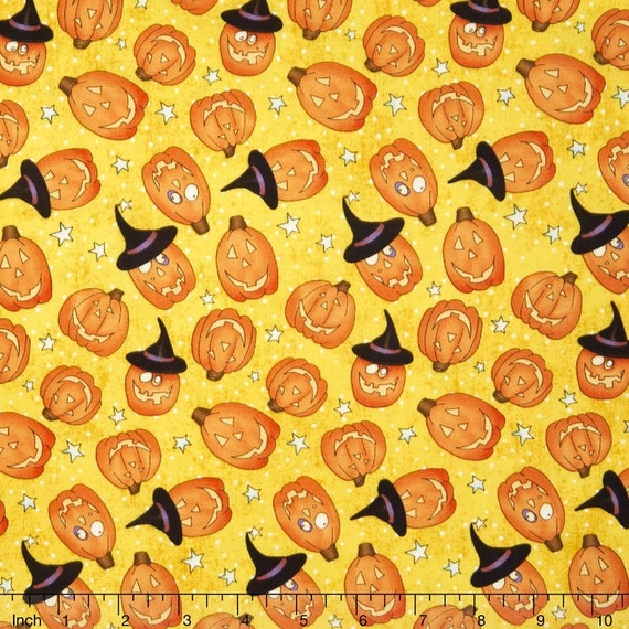 Studio E Cheeky Wee Pumpkins 3270 44 Beige Toss BTY Cotton Fab
