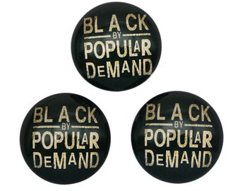 feb4620158e2 4 Pcs Glass Cabochons For DIY Earrings Necklace Bracelet Black By Popular  Demand African Pride Celebrate Word Charm 20mm 25mm #2356
