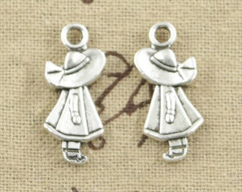 Exclusive Line Quantity Options Baby Sister Stainless Steel Charm BFS779