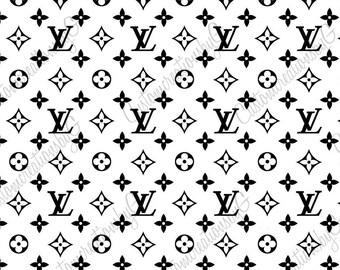 Louis Vuitton Svg Etsy