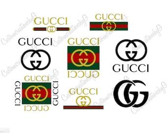 Gucci Logo Svg Etsy
