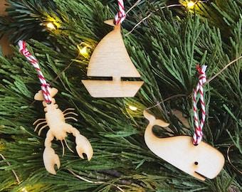 Ornaments // New England Theme