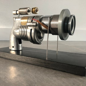 "Cosmic Ray Gun Collectible Handmade bronze coulé en aluminium métal Nelles 15/""L nouveau"