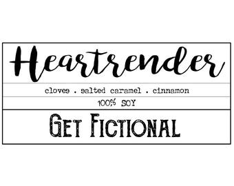Heartrender {Six of Crows   Nina} Soy Candle