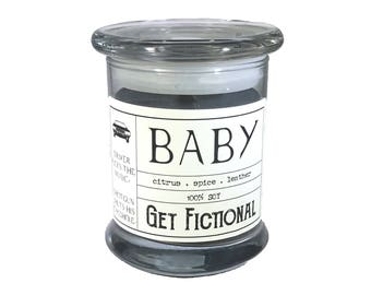 Baby {Dean's Impala} - Supernatural Soy Candle
