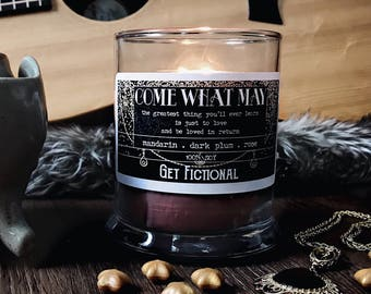 Come What May {Moulin Rouge} Soy Candle