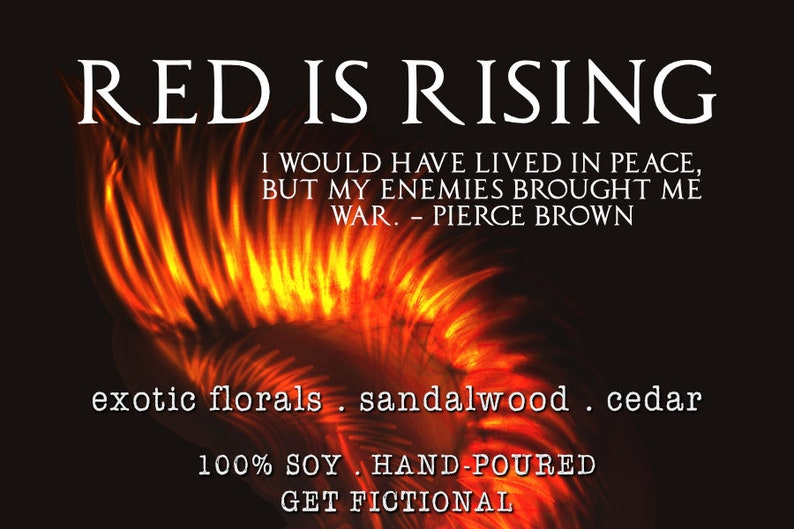 Red is Rising {Red Rising Series}